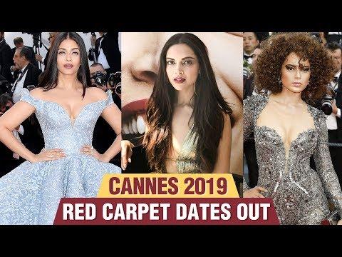 Cannes 2019  Aishwarya Rai Kangana Ranaut Deepika Padukone Red Carpet DATES LEAKED