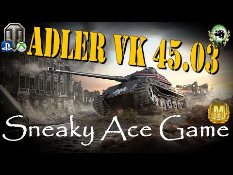 Adler VK 45.03 Ace Game & Quick Review | WoT Console
