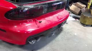 Gambar cover 1994 Trans Am second startup after build