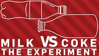 What happens when you Mix Coke and Milk! | Earth Lab