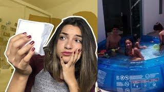 MINHA PRIMEIRA MENSTRUAÇÃO (foi um desastre kkkk) | Ana Laura Lopes
