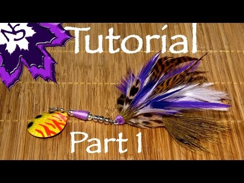 Bucktail Tying Tutorial - Part 1 the Tail - how to diy fishing lures
