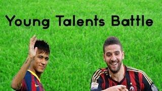 Repeat youtube video Neymar vs Adel Taarabt | Young Talents Battle | Best Skills & Goals 2014 HD