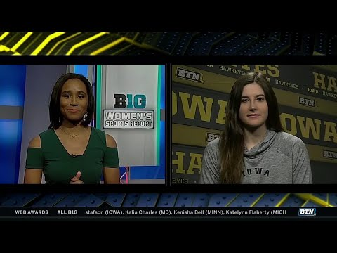 Big Ten Player of the Year: Iowa's Megan Gustafson (Media)