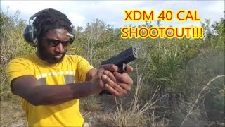 SPRINGFIELD XDM 40 CAL SHOOTOUT!!!!!