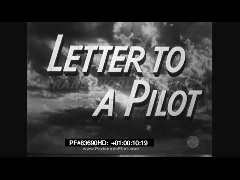 Letter to a Pilot - Trans World Airlines 83690 HD