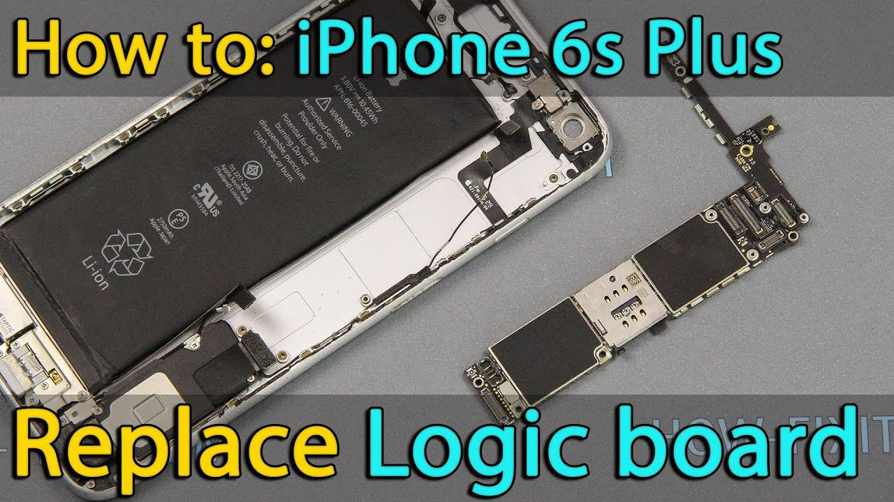 reputable site 862d8 3cd5c iPhone 6s Plus Motherboard replacement
