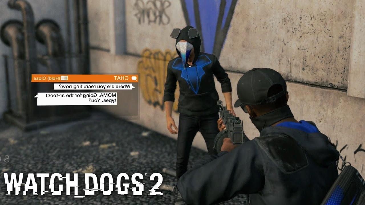 Mask Watch Dogs