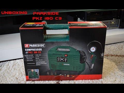 Unboxing Lidl - Parkside PKZ 180 C3