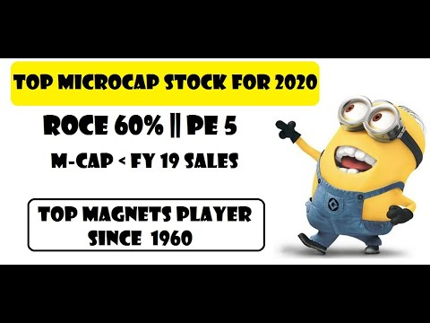 MICRO CAP STOCK WITH MULTIBAGGER POTENTIAL FOR 2020    Permanent Magnets Ltd
