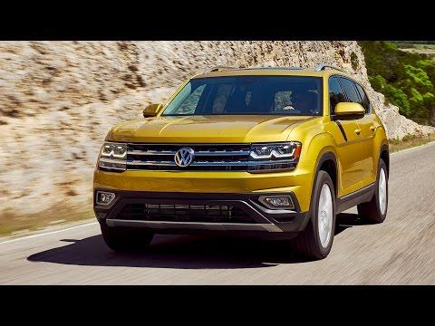 2018 Volkswagen Atlas SEL - Driving+Interior+Exterior | Kurkuma Yellow Metalic