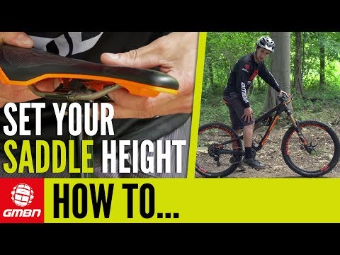How To Set Your Saddle Height – MTB Pro Tips
