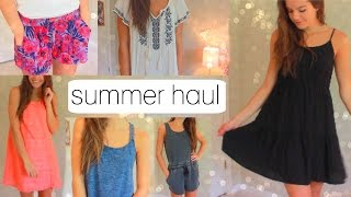 HUGE Try-On Summer Clothing Haul! | 2015