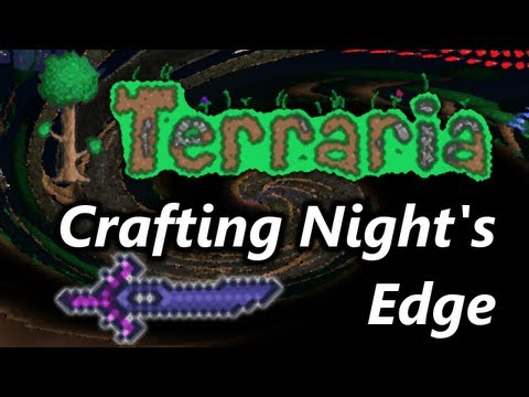Terraria: Crafting Night's Edge (HD)