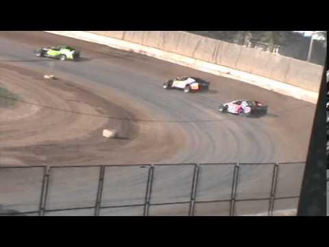 IMCA Sportmod Heat 2 Seymour Speedway 6/21/15