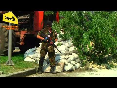 Donetsk. Militia Block-Post. 29.05.2014 (DPR)