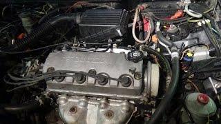 Замена прокладки ГБЦ Хонда Цивик двигатель D13B.