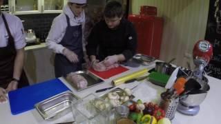 Мастер-класс в Кулинарной студия Ильи лазерсона