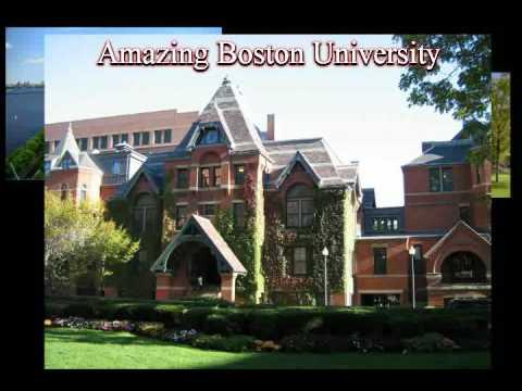 Boston University Campus view -Top Ranking University of the World