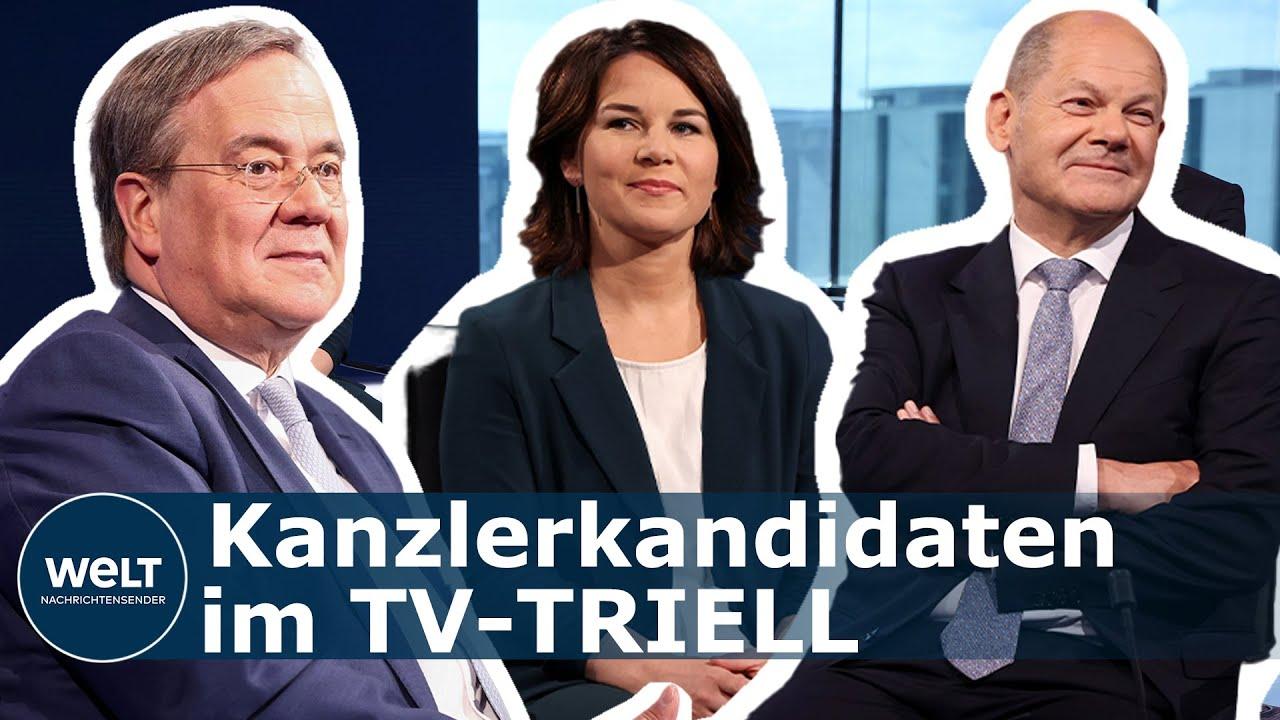 Bundeswehr Und Nordstream 2 Kanzlerkandidaten Stellen Sich Wichtigen Aussenpolitischen Fragen Youtube