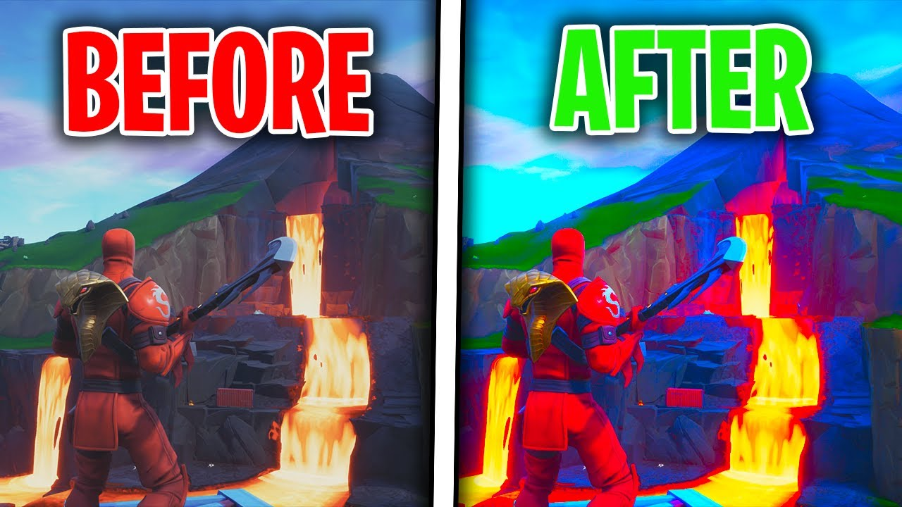 Best Fortnite Season 8 Graphic Settings How To Make Fortnite Look Better Ps4xboxpc Battle Royale