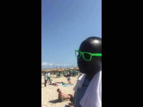 Mallorca 2016 der Helmut aus dem Senegal 😂