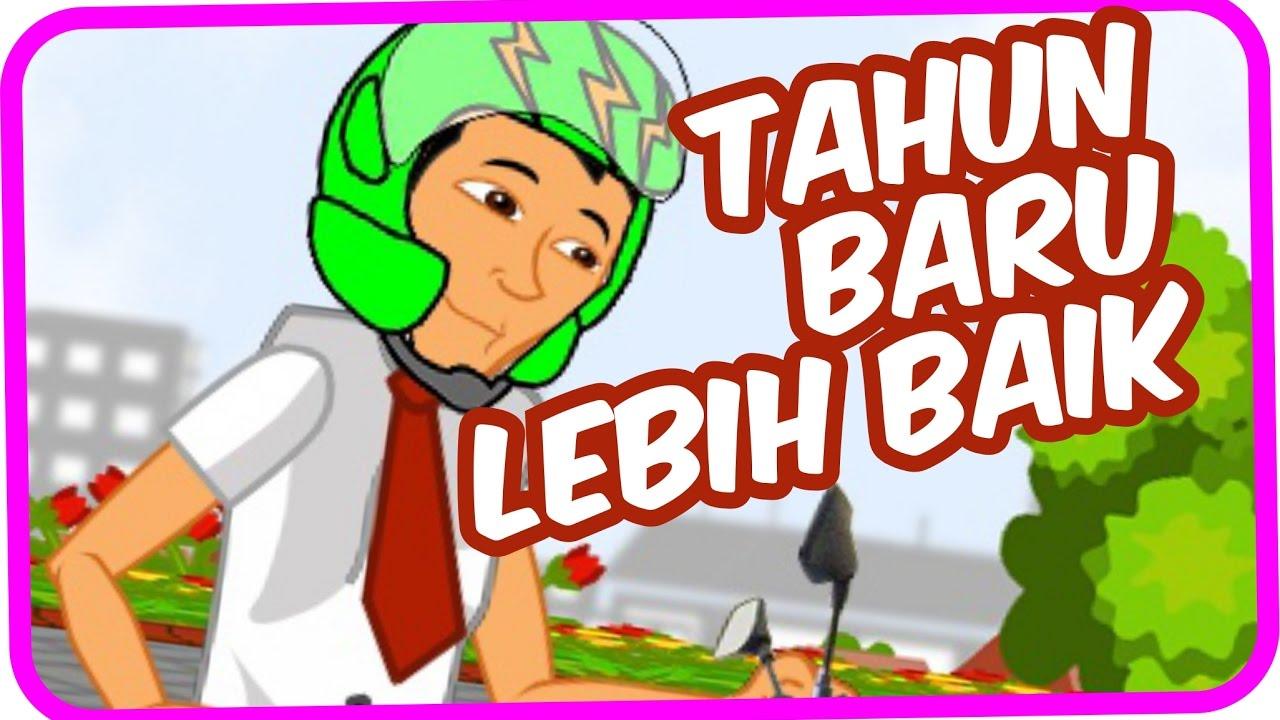 Culoboyo Terompet Tahun Baru Kartun Lucu Culoboyo Youtube