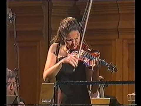 Brahms: Violin Concerto (1st Mvt / Part 2) / Tatiana Samouil