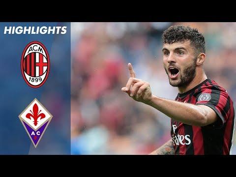 Milan - Fiorentina 5-1 - Highlights - Giornata 38 - Serie A TIM 2017/18