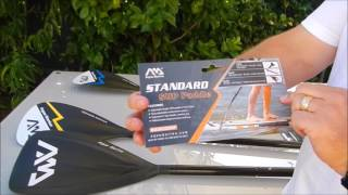 Video Aqua Marina 2017 Standard Paddle & Carbon Guide paddle review download MP3, 3GP, MP4, WEBM, AVI, FLV Oktober 2018