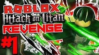 DER AOT SUCCESSOR ZU DBZ FINAL STAND!   Roblox: Angriff auf Titan Revenge - Episode 1