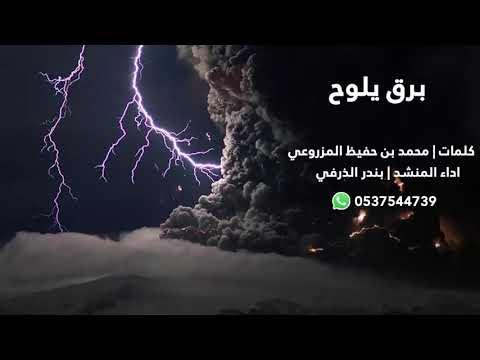 برق يلوح   كلمات محمد بن حفيظ المزروعي   اداء بندر الذرفي