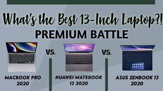 Macbook Pro 2020 vs. Asus Zenbook 13 UX334FL vs. Huawei Matebook 13   Chris Tech