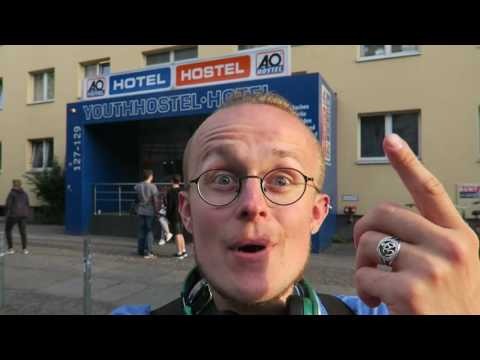 cheapest hostel berlin - A&O hostel hotel -{vlog.33}-