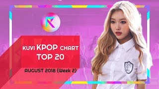 [TOP 20 K-POP] AUGUST 2018 (Week 2) || KUVI KPOP CHART