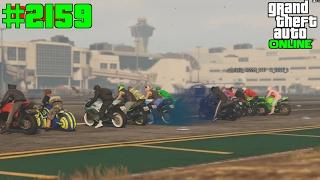 GTA 5 ONLINE Motorrad vs Hydra #2159 Let`s Play GTA V Online PS4 2