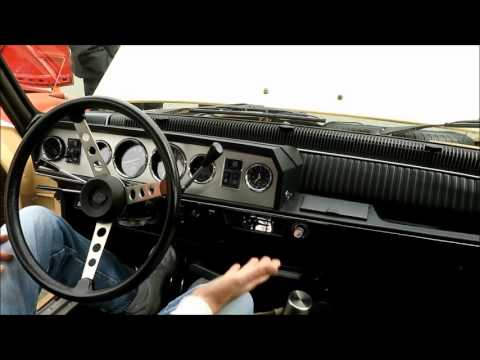Renault 16 5-on-the-tree manual transmission column shifter