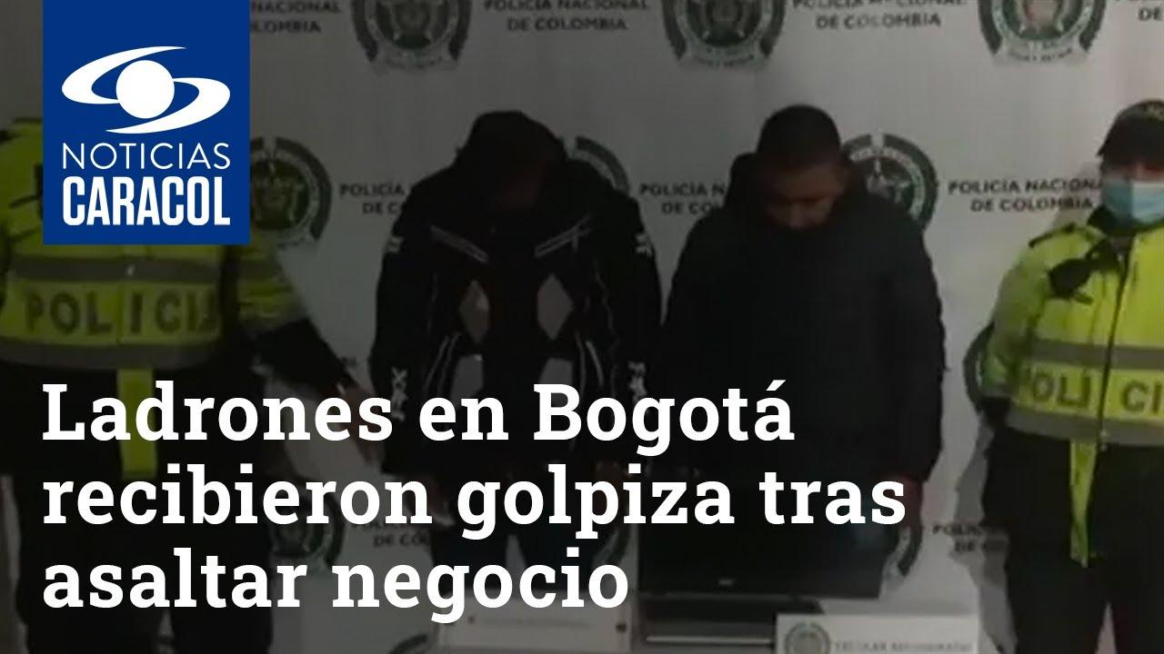 """Download Ladrones en Bogotá recibieron golpiza tras asaltar negocio: """"El que venga a robar le va a ir mal"""""""