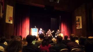 Alash Ensemble Track 2 (Tuvan Throat Singing) at the University of Chicago (Nov. 2013)
