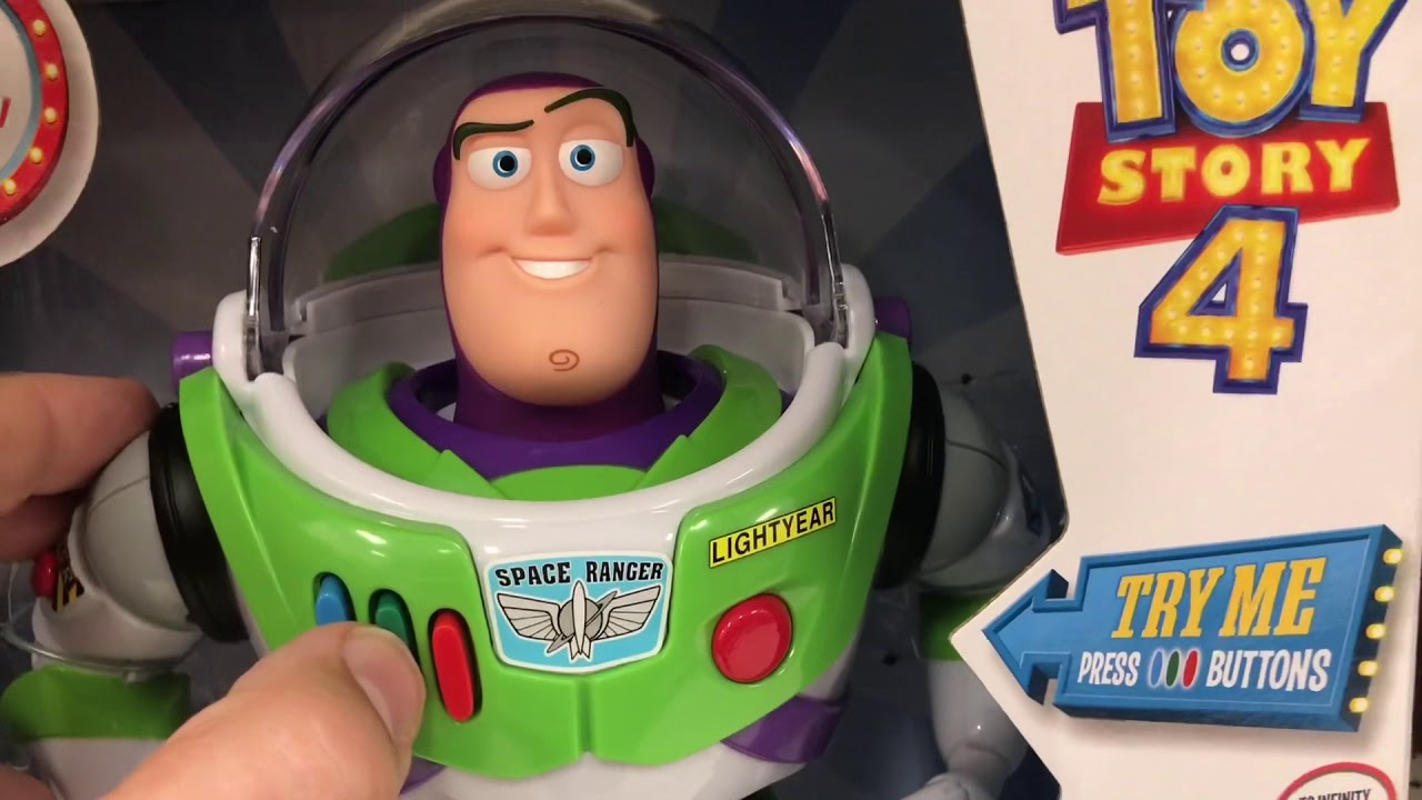 Toy Story 4 Buzz Lightyear All The Voices In Target