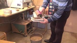 Мастер керамист  Урок 1  Приготовление глины к лепке