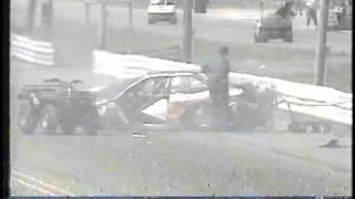 1995 IHRA Summernationals Ronnie Sox Crash