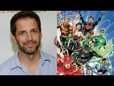Zack Snyder Front-Runner To Direct 'Justice League'