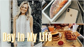 Day In My Life! | Running Errands, Getting A New Phone, & Working Out!