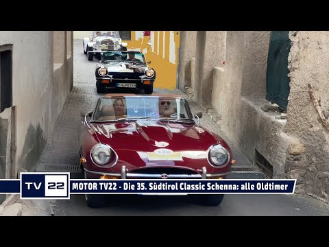 MOTOR TV22: Alle Oldtimer der 35. Südtirol Classic Schenna Rallye in Südtirol