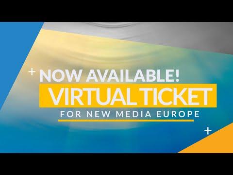 New Media Europe 2016 Virtual Ticket