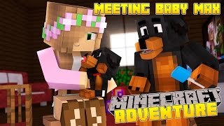 Minecraft - Little Kelly Adventures : MEETING DONUTS BABY BROTHER MAX!