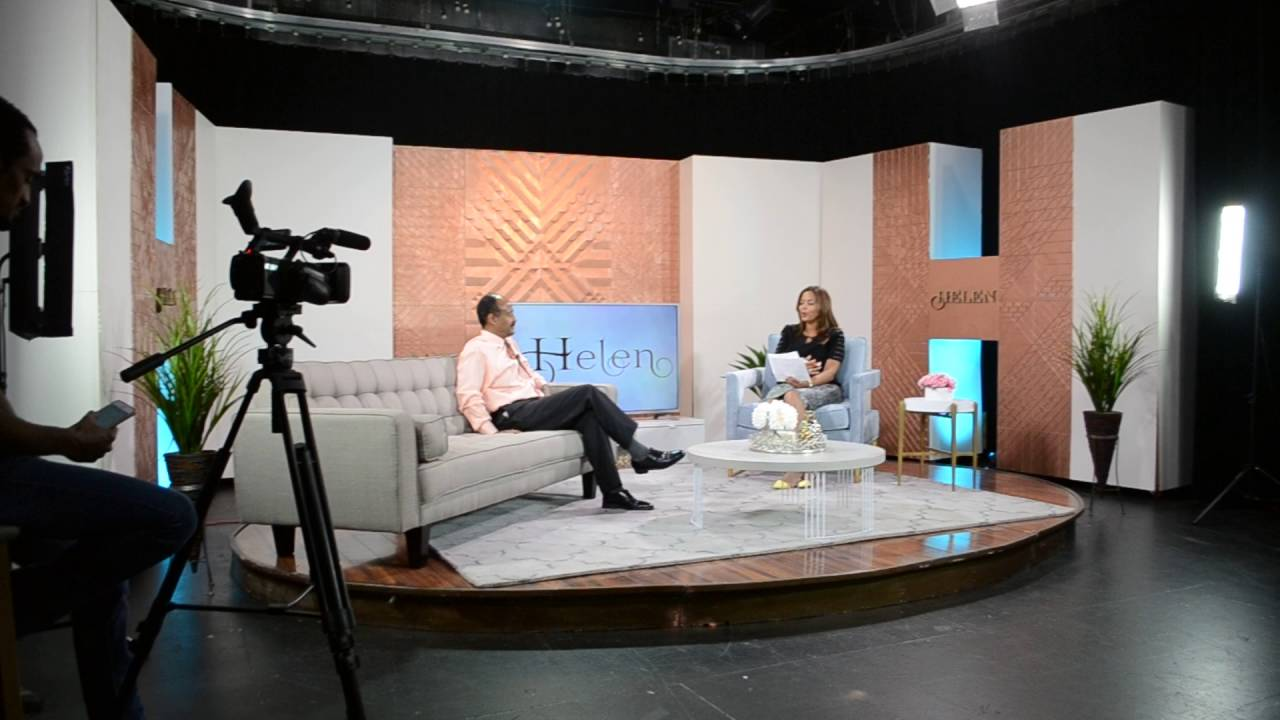 Helen Show Set Design On EBS TV Advanced Design And Fabrication Marta Ali  Studios
