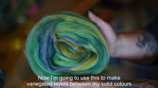 Hackle: Combed Top for Hand Spinning