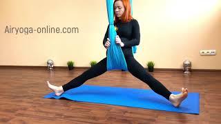 Airyoga perinatal . Перинатальная йога с гамаком